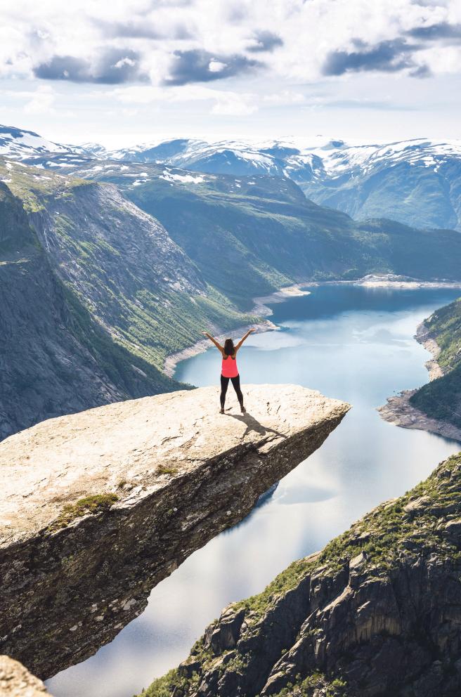 Trolltunga i Norge